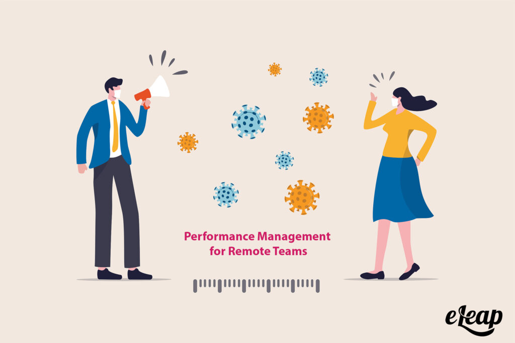 Performance management in social distance world - remote teams