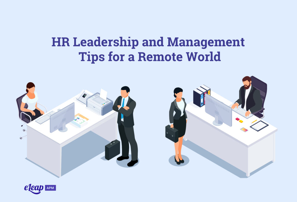 HR Leadership and Management Tips for a Remote World